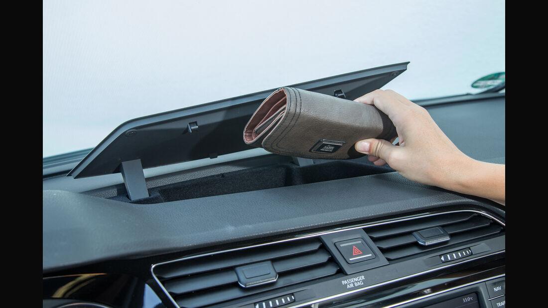 VW Touran 1.4 TSI, Ablagefach