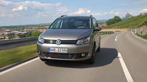 VW Touran 1.4 TSI Ecofuel, Frontansicht, Front