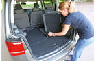 VW Touran 1.4 TSI Ecofuel, Kofferraum, Notsitz, Klappsitz