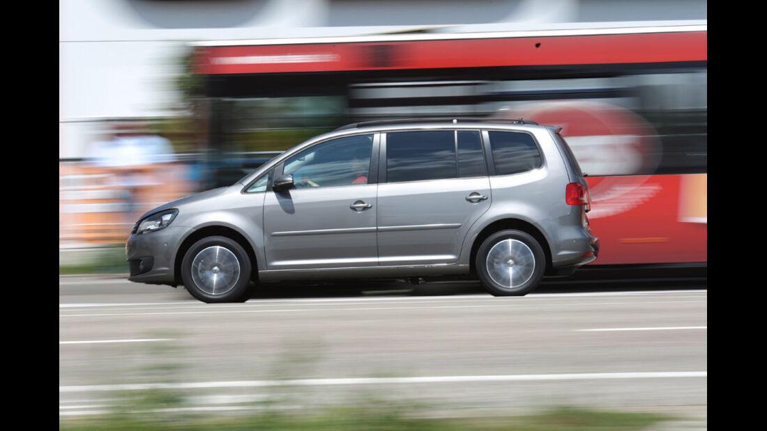 VW Touran 1.4 TSI Ecofuel, Seitenansicht