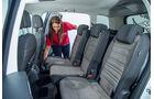 VW Touran 1.4 TSI, Fondsitze, Umklappen