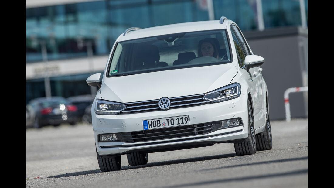 VW Touran 1.4 TSI, Frontansicht