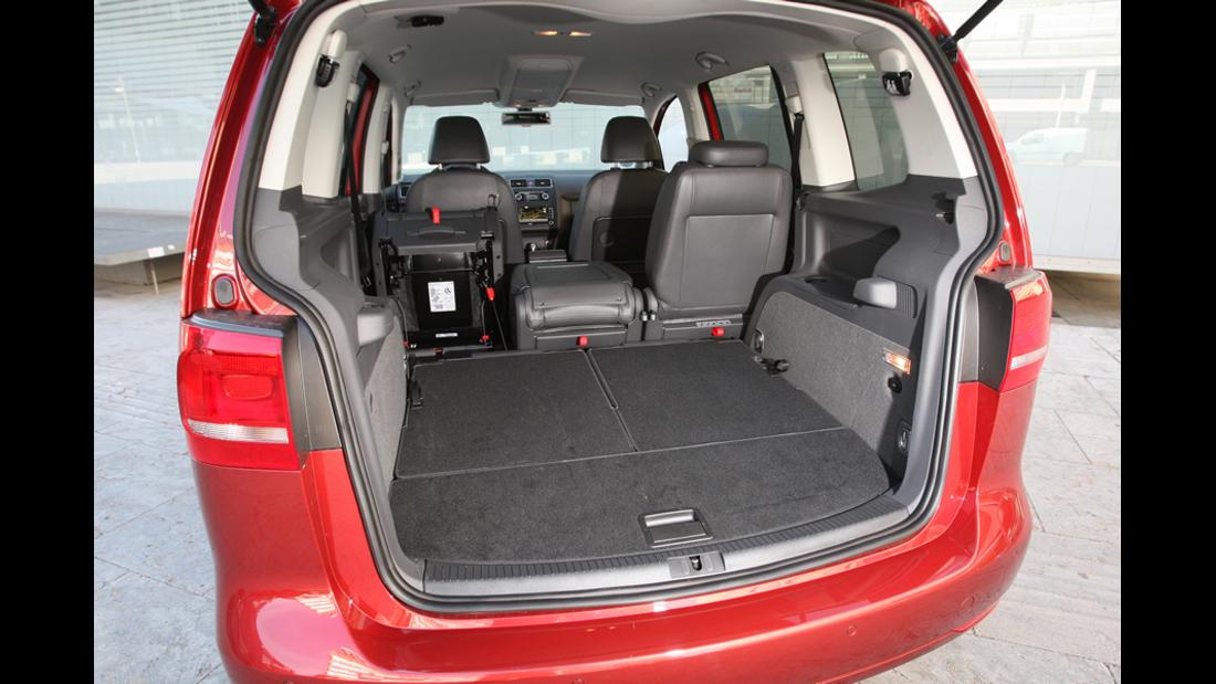 VW Touran 1.4 TSI Kofferraum