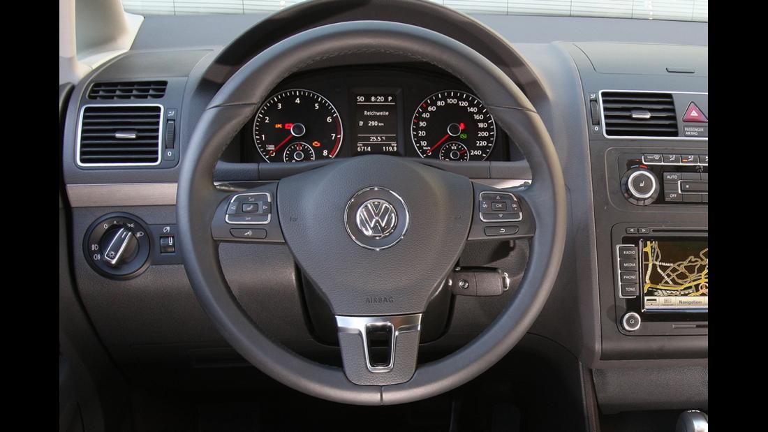 VW Touran 1.4 TSI Lenkrad