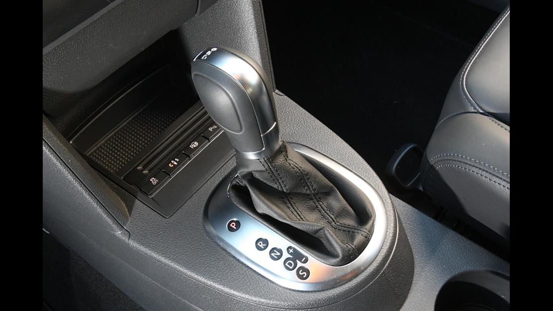 VW Touran 1.4 TSI Schalthebel