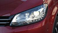 VW Touran 1.4 TSI, Scheinwerfer