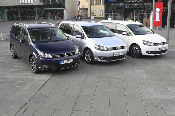 VW Touran 1.4 TSI, VW Touran 1.4 TSI Ecofuel, VW Touran 2.0 TDI