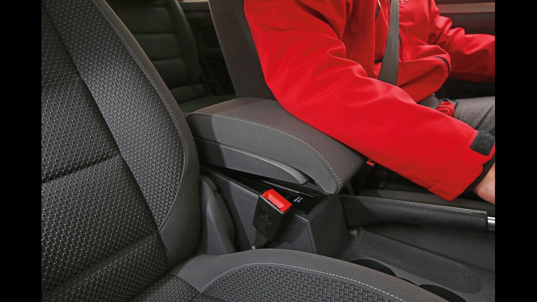 VW Touran 1.6 TDI BMT, Armlehne