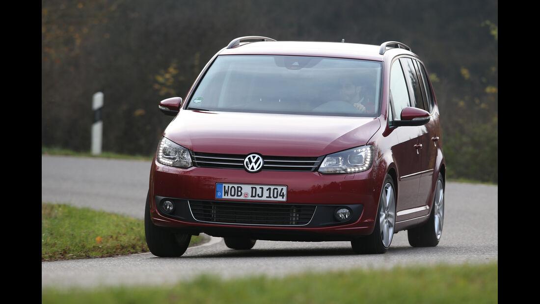 VW Touran 1.6 TDI BMT, Frontansicht