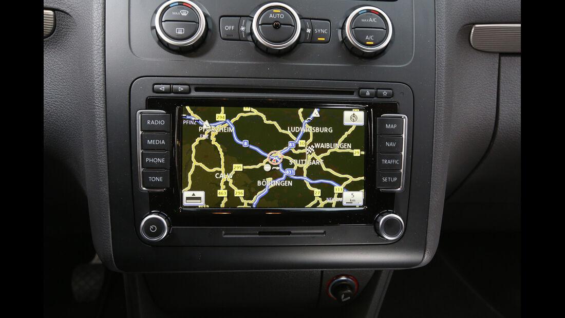 VW Touran 1.6 TDI BMT, Navi, Display