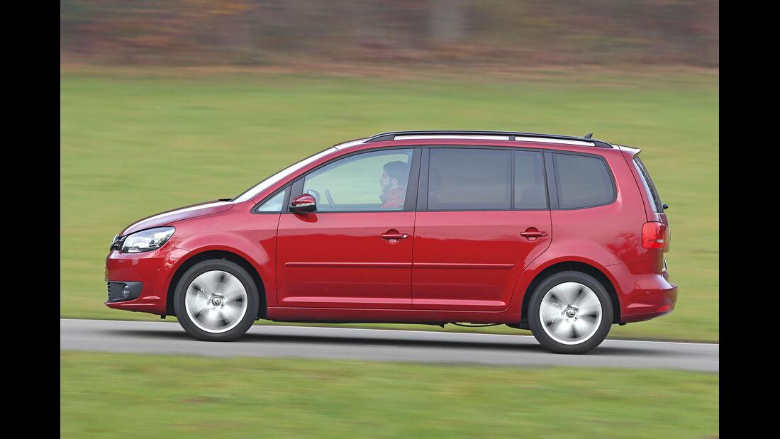 VW Touran 1.6 TDI BMT, Seitenansicht