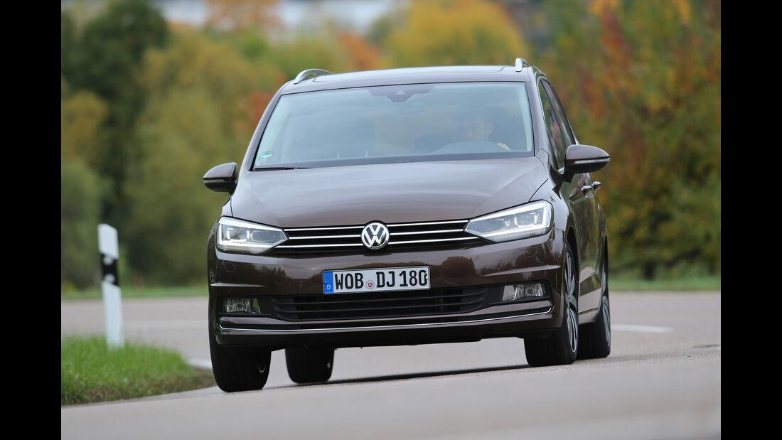 VW Touran 2.0 TDI, Frontansicht