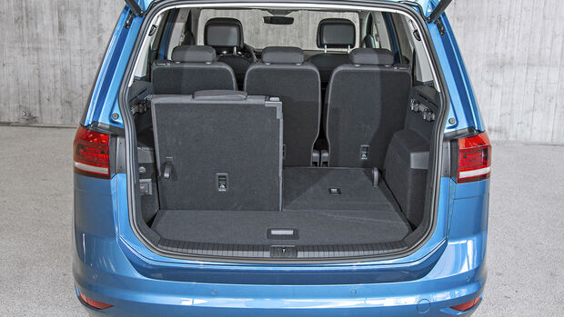 VW Touran 2.0 TDI, Interieur