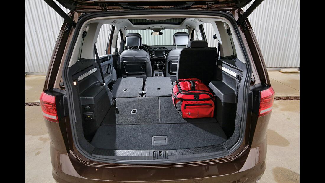 VW Touran 2.0 TDI, Kofferraum