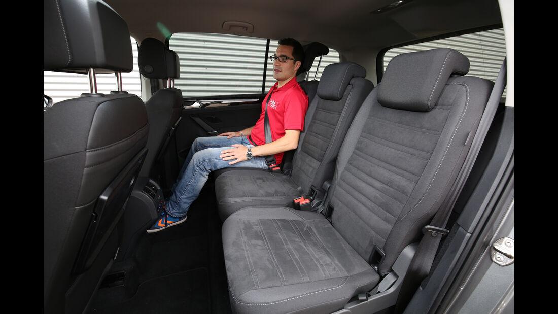 VW Touran 2.0 TDI SCR, Fondsitze