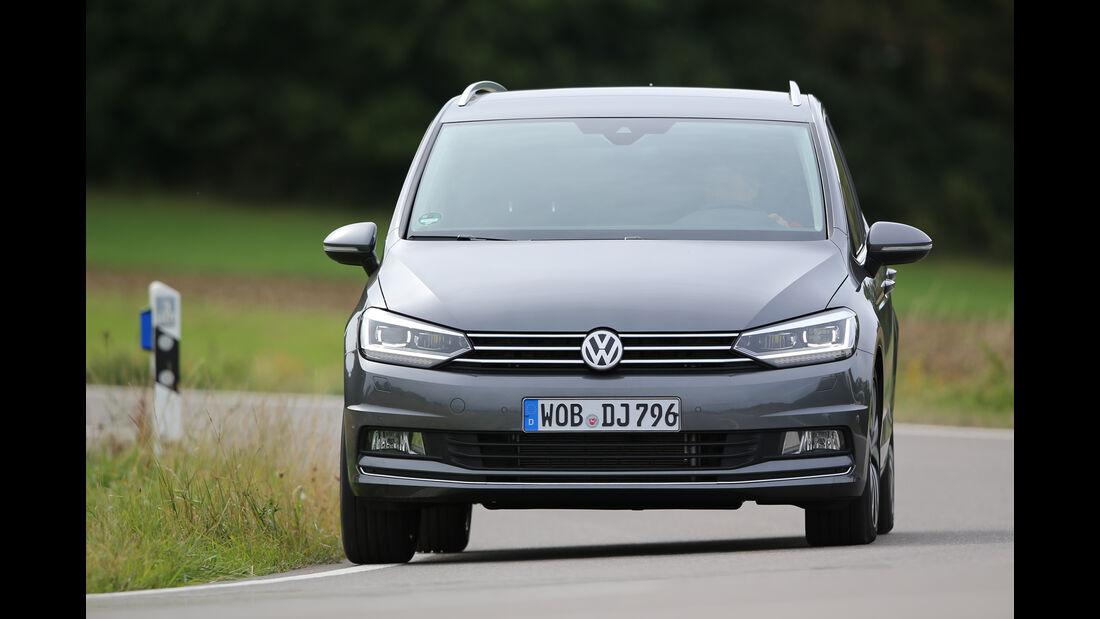 VW Touran 2.0 TDI SCR, Frontansicht