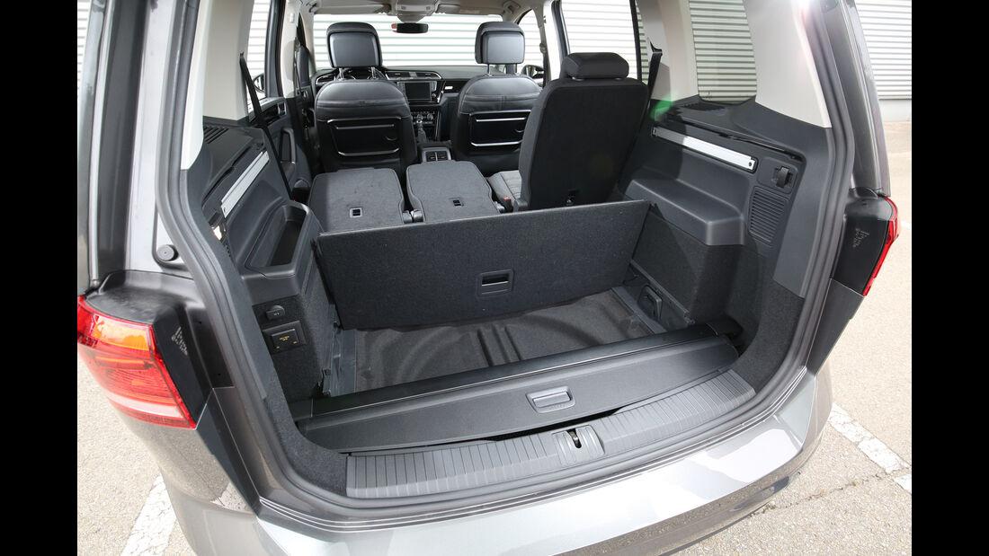 VW Touran 2.0 TDI SCR, Kofferraum