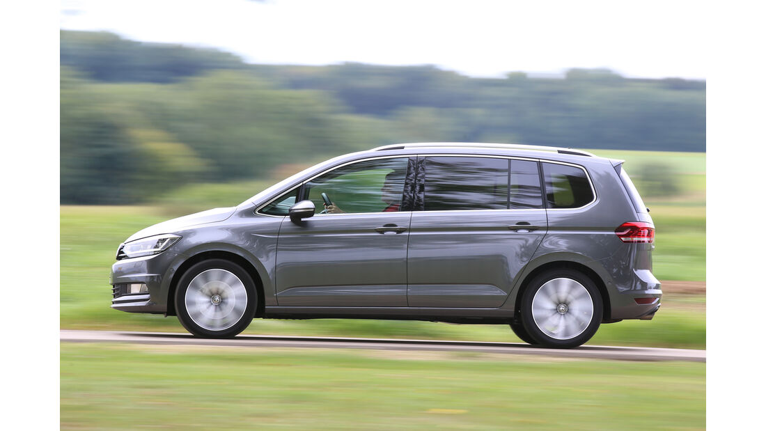 VW Touran 2.0 TDI SCR, Seitenansicht