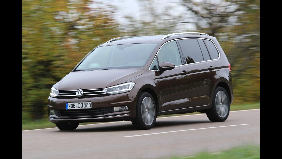VW Touran 2.0 TDI, Seitenansicht