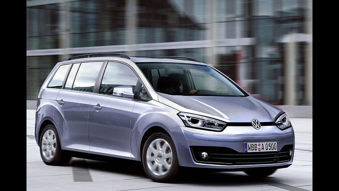 VW Touran 2011