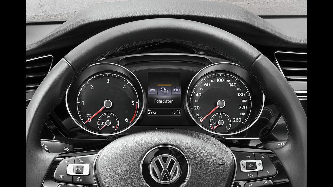 VW Touran 2015, Cockpit, Instrumente