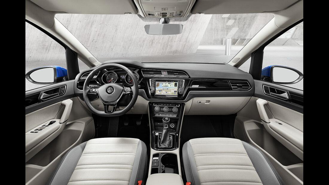 VW Touran 2015, Innenraum, Cockpit
