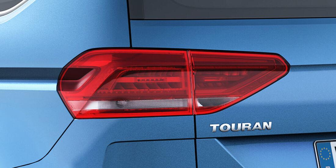 VW Touran 2015, Rückleuchten