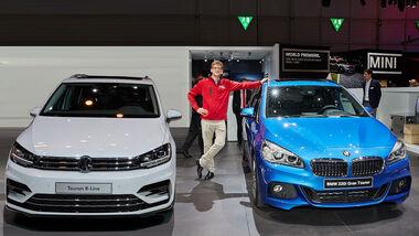 VW Touran, BMW 2er Gran Tourer