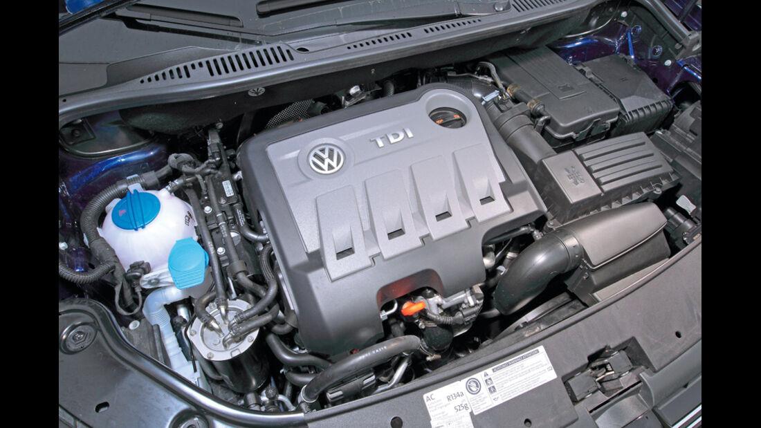VW Touran Ecofuel 2.0 TDI, Motor