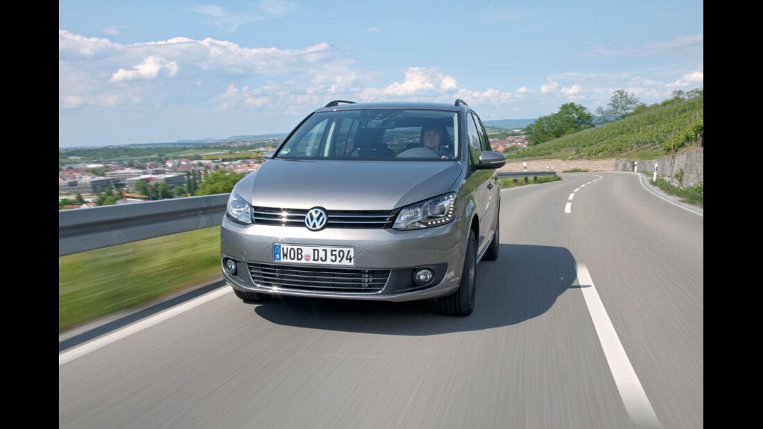 VW Touran, Frontansicht