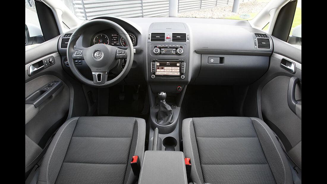 VW Touran Innenraum