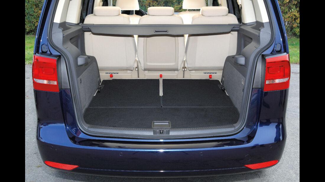 VW Touran, Kofferraum