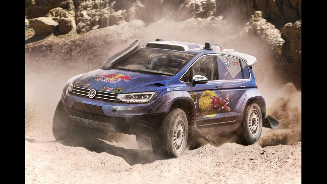 VW Touran - Moderne Rallye-Legenden