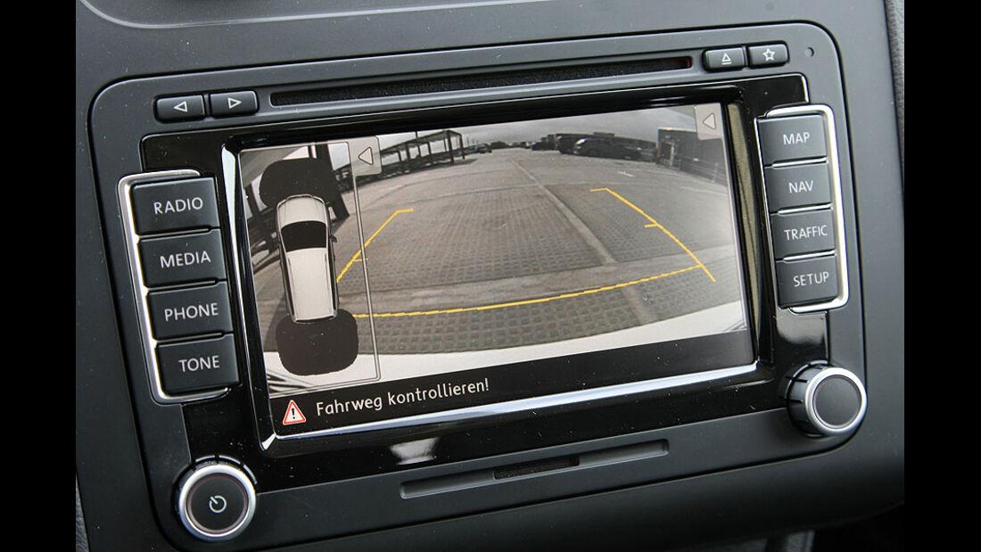 VW Touran Navigationssystem