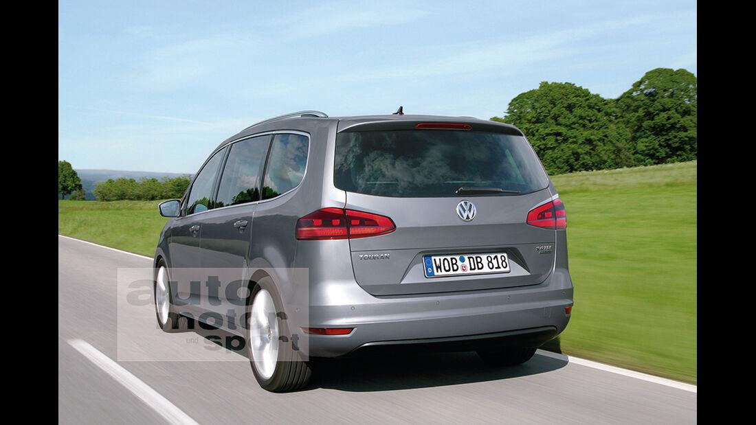 VW Touran Retusche