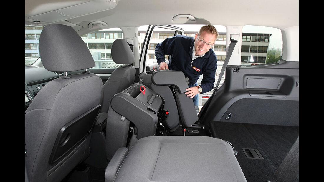 VW Touran Rückbank