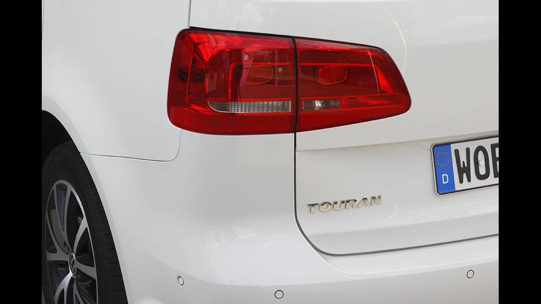 VW Touran Rückseite