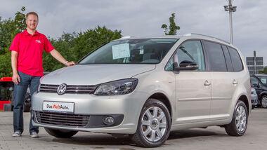 VW Touran, Seitenansicht