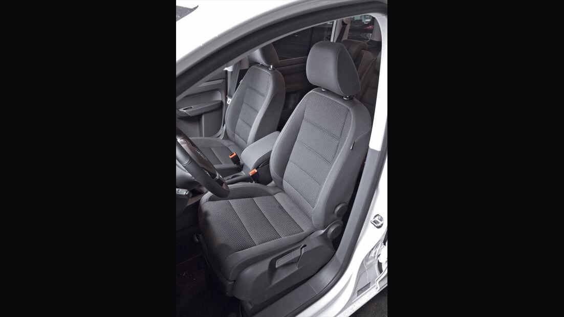 VW Touran, Sitze