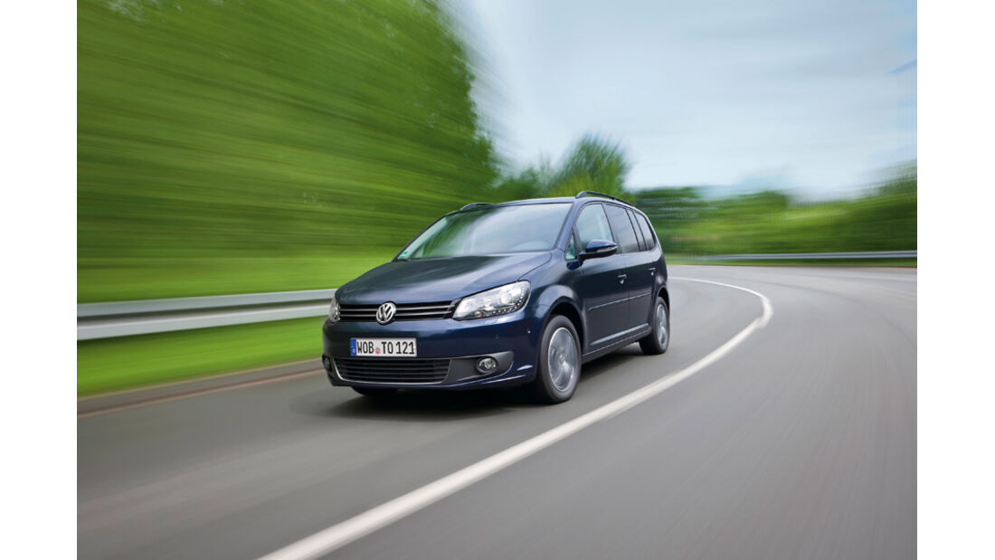 VW Touran TSI Ecofuel, Front