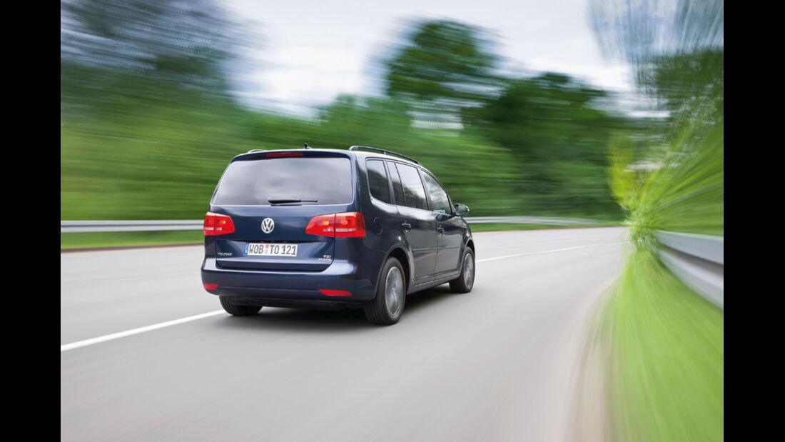 VW Touran TSI Ecofuel, Heck