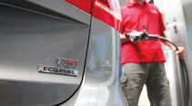 VW Touran TSI Ecofuel, Tanken, Tankstelle