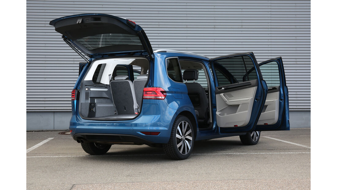VW Touran, Türen