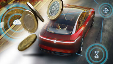 VW Trinity On Demand Autonom Collage