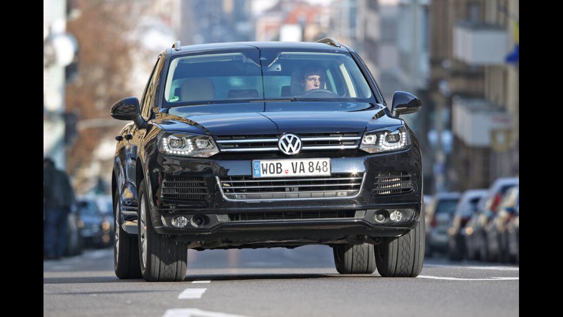 VW Tuareg V6 TDI, Frontansicht