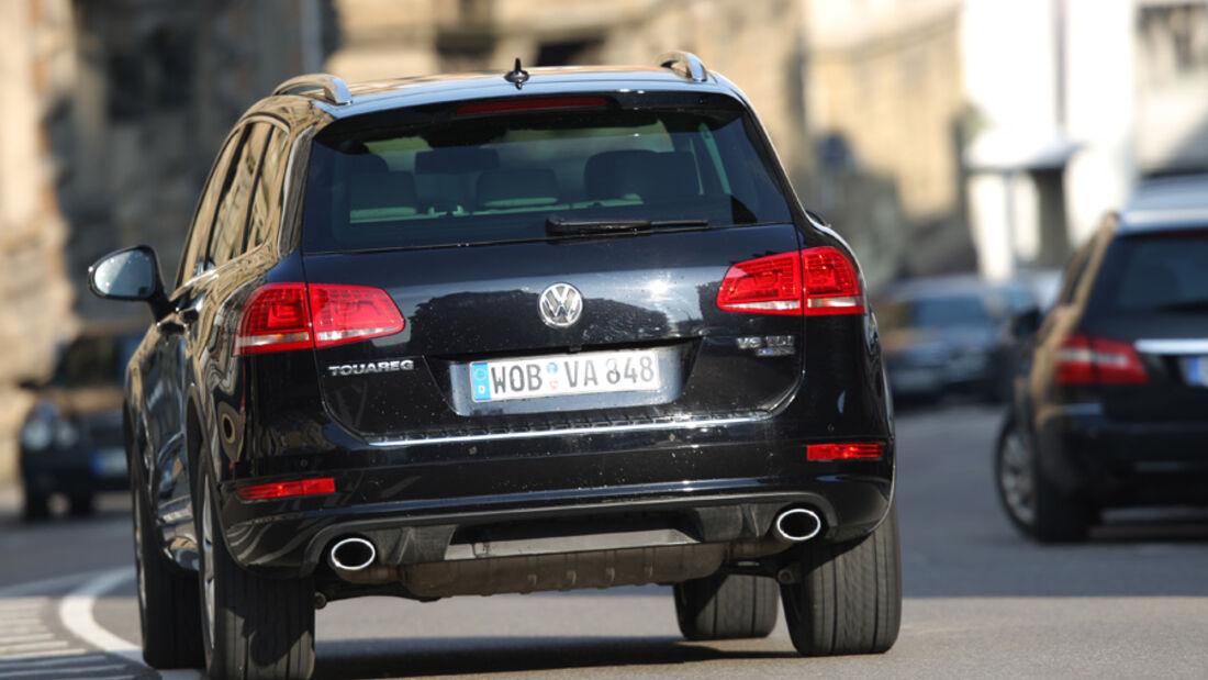VW Tuareg V6 TDI, Heck