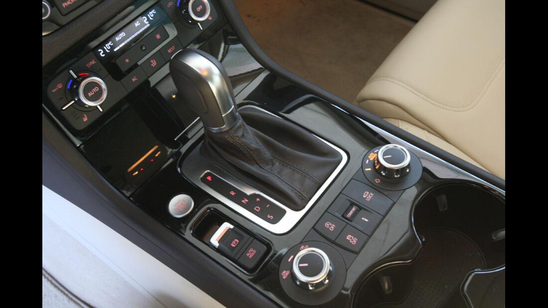 VW Tuareg V6 TDI, Schalthebel, Schaltknauf