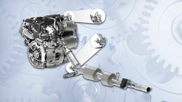 VW Twindosing, Motor