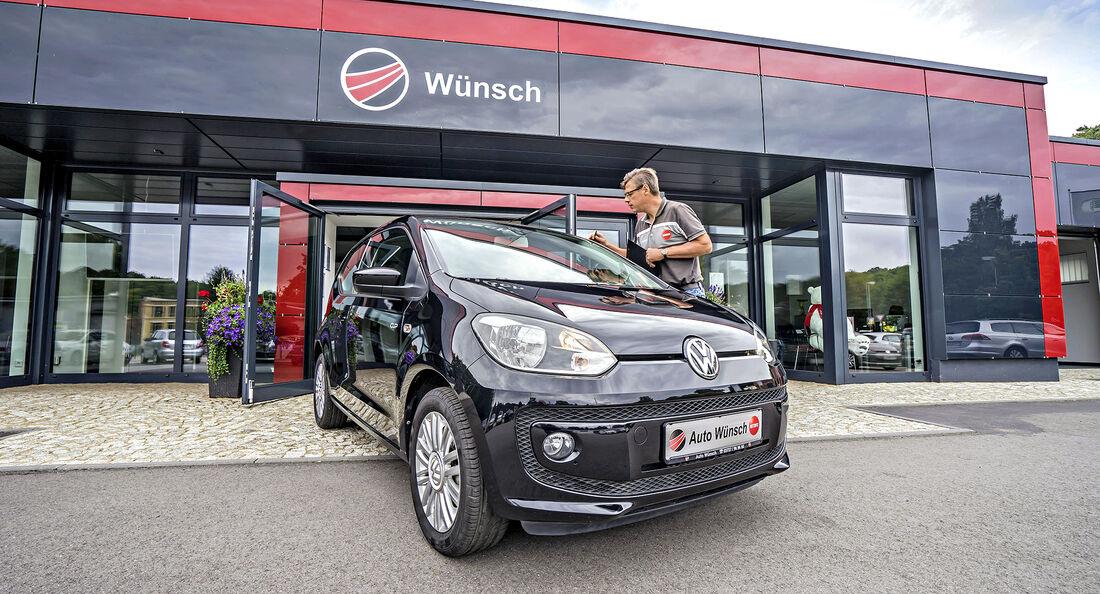 VW UP, Gebrauchtwagen-Check, asv2417