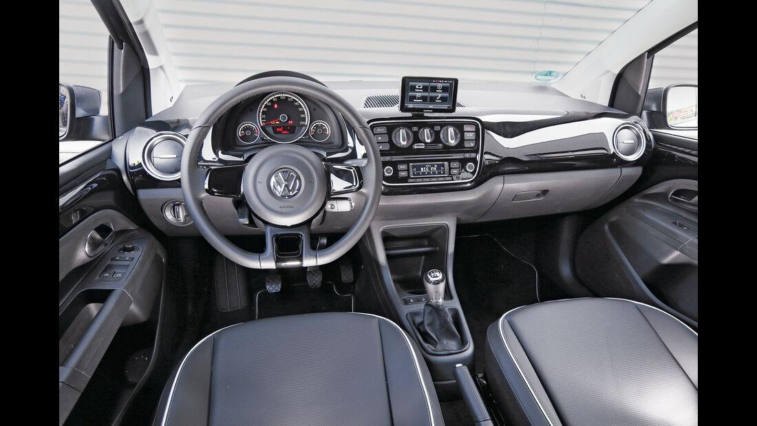 VW Up 1.0 BMT, Cockpit